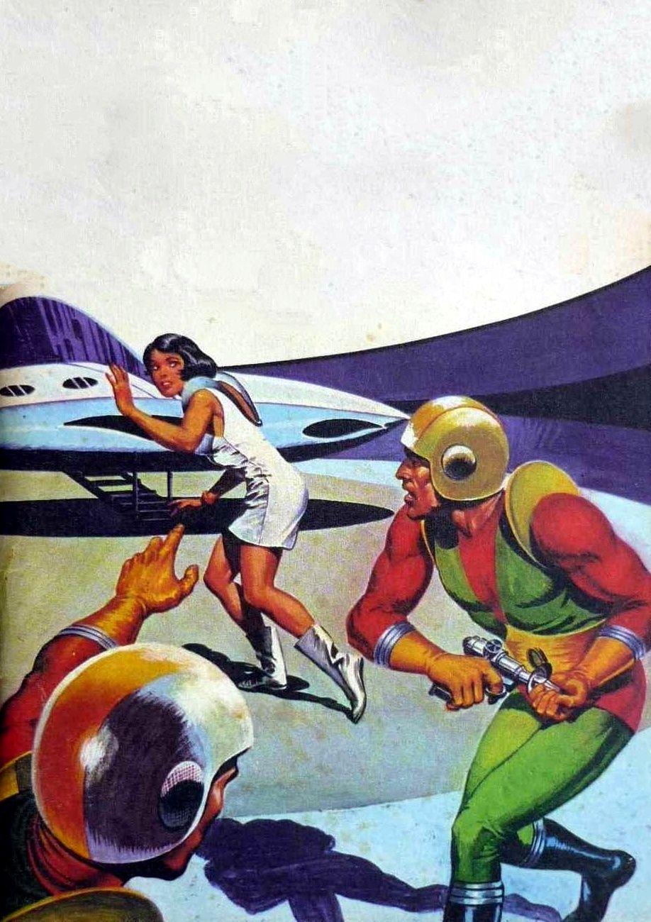 Jean Frisano - Les fauteurs de guerre, 1973. / The Science Fiction Gallery