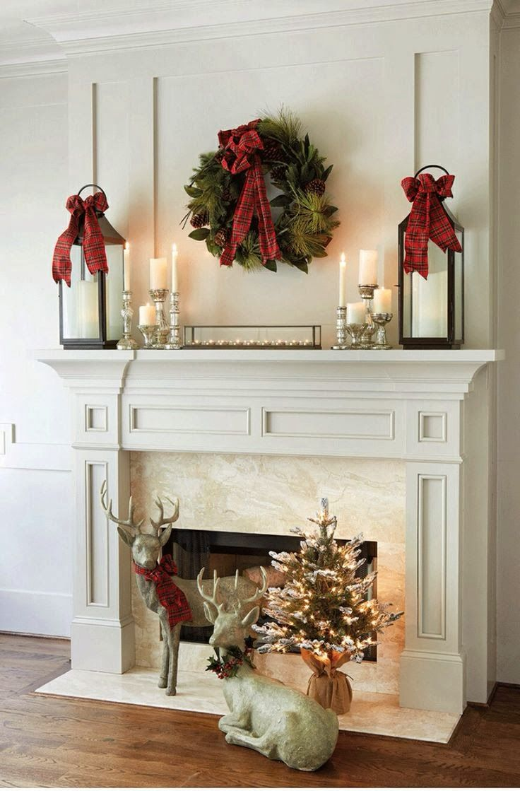 Add a little plaid country holidays fall winter pinterest