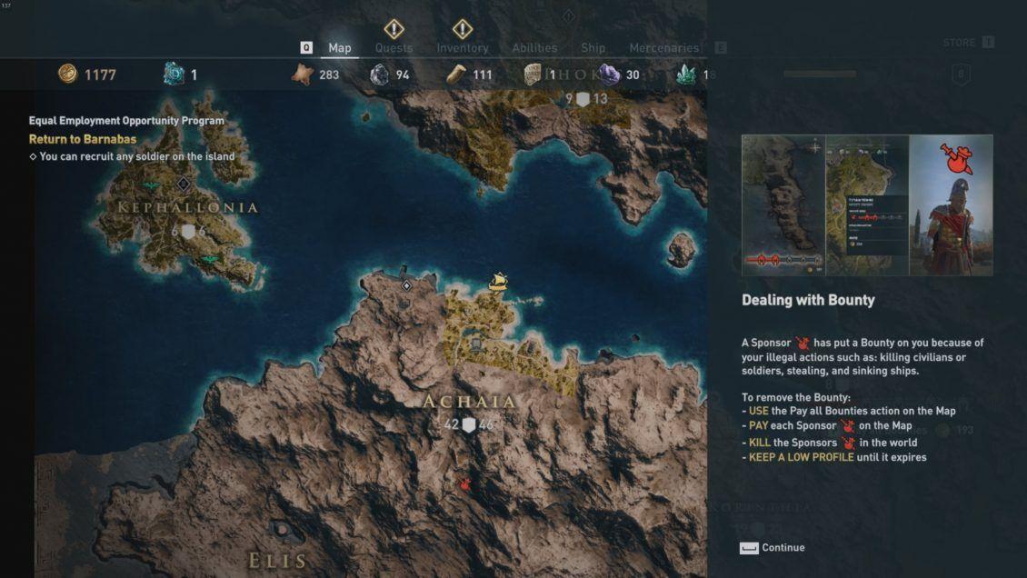 Assassin S Creed Odyssey Mercenary System Guide Vulkk Com