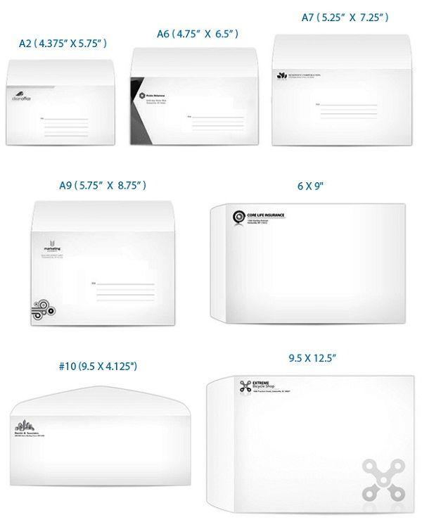 Envelope Sizes Uprinting Com Card Sizes Standard Card Sizes Envelope Sizes