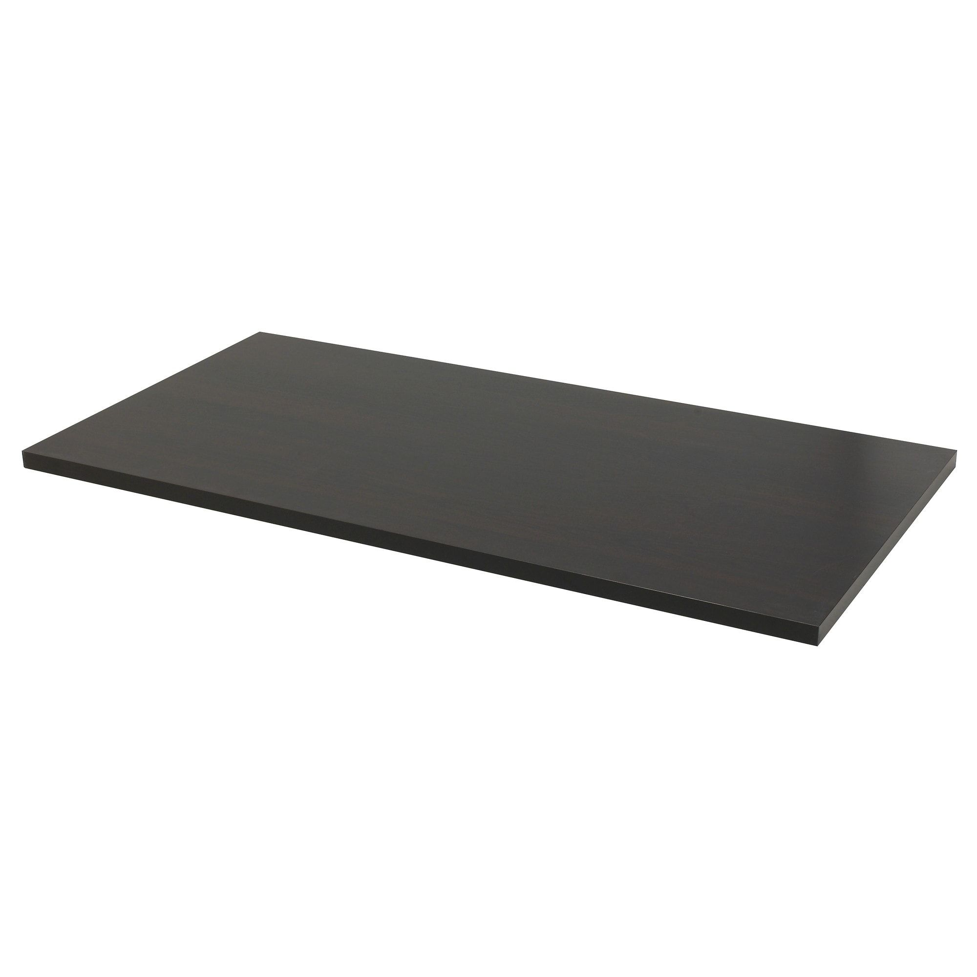 Linnmon Tabletop Black Brown 59x29 1 2 Ikea Linnmon Table Top Ikea Glass Table Top Glass Top Coffee Table