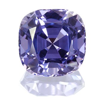 Spinel--Light Blue. Spinel is found in many colors and shades.