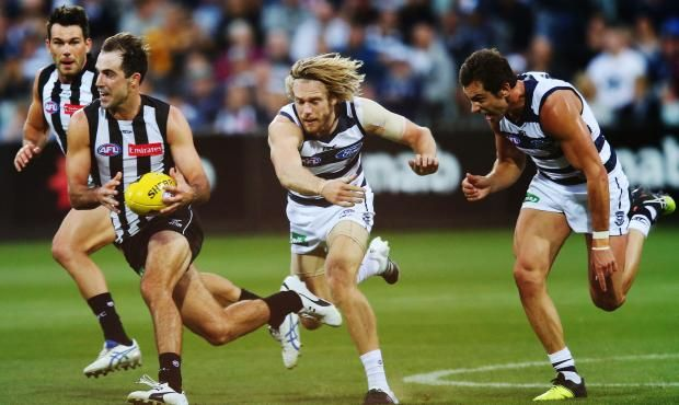Match Preview Collingwood V Geelong With Images Collingwood Geelong Footy