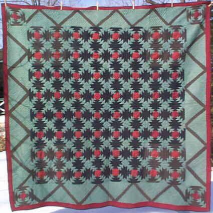 Bucks Co. PA Mennonite quilt - windmill blades | Antique Quilts ... : mennonite quilts sale - Adamdwight.com