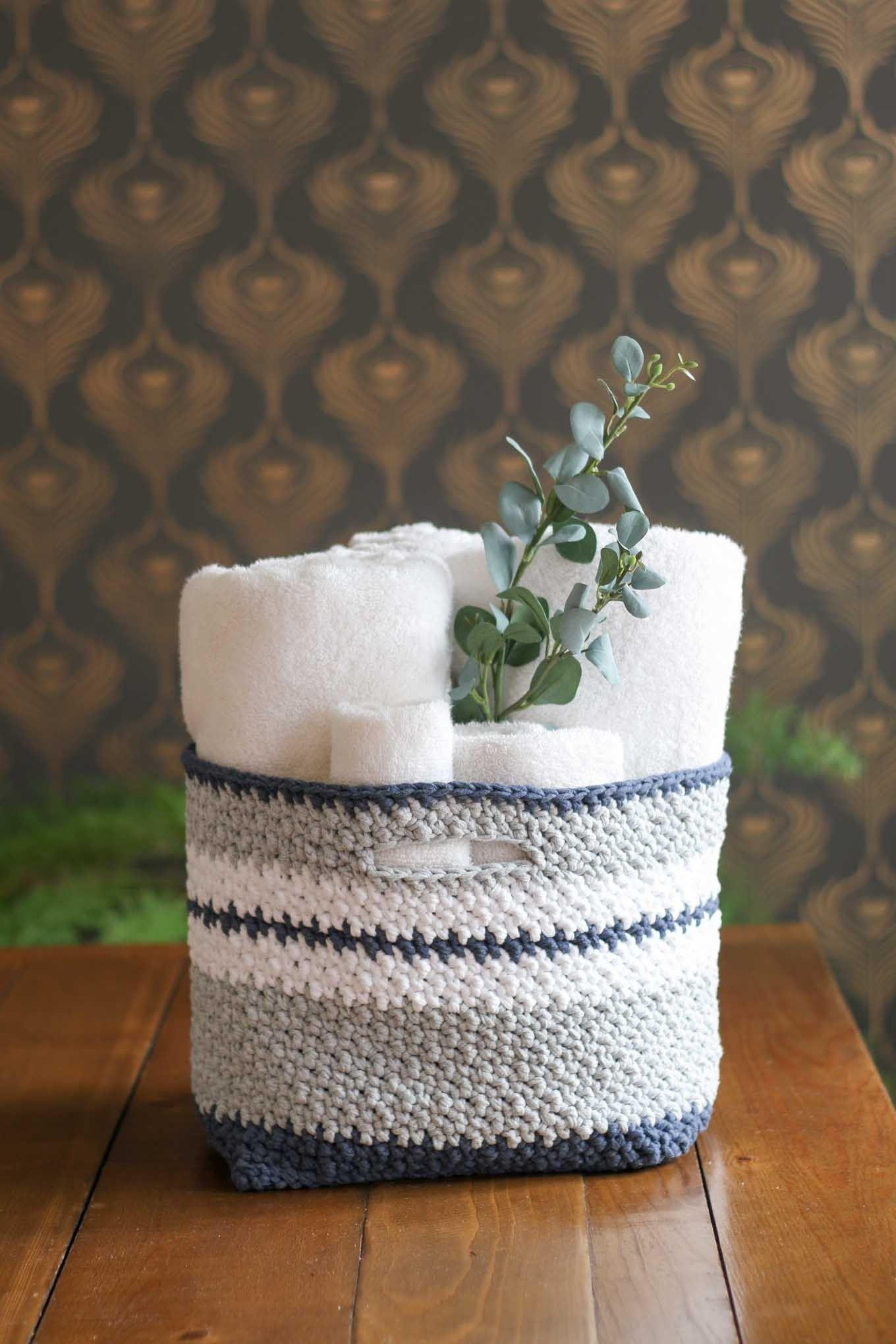 Crochet Kit - The Jacqueline Basket | Decoraciones del hogar, Varios ...