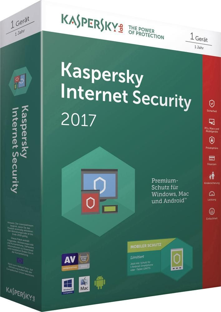 Kaspersky internet security portable 2017