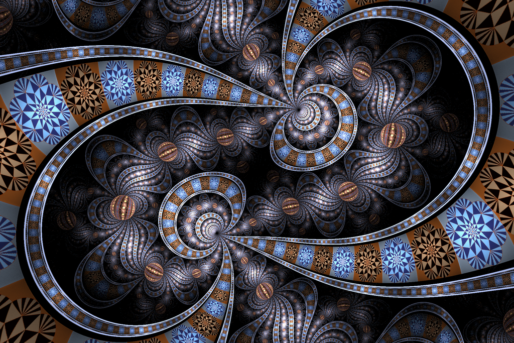 Apophysis 7x. Loosely inspired by a description of the dragon Saphira's scales in the novel 'Eragon' -Thanks to ~Drummerboy08 for this tutorial. It helped me a great deal