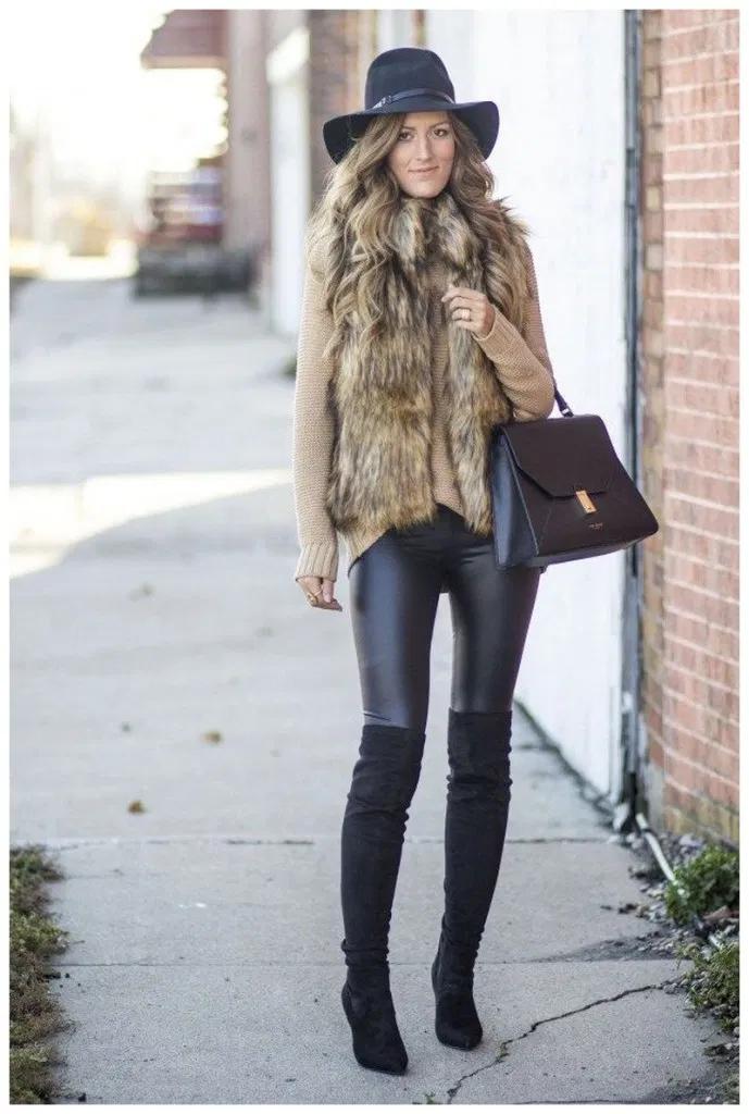40+ Winter Date Night Outfits » Educabit #datenightoutfit