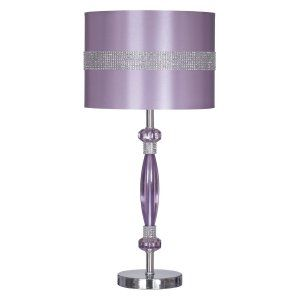Discount Lighting On Hayneedle Lighting On Sale Purple Table Lamp Metal Table Lamps Table Lamp