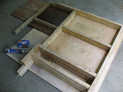 How to make your own fireplace refractory panels in pre-fab
