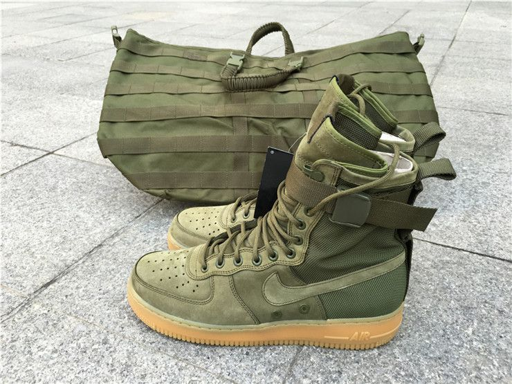 nike force 1 men olive
