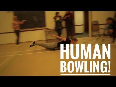 Human bowling! - YouTube