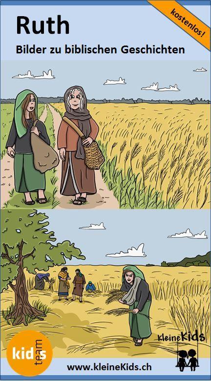 ruth kostenlose bilder zur bibelgeschichte für kinder