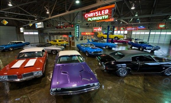 Awesome Shop Old Dealership Turned To Museum The Chargers Are