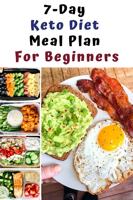 7-Day Keto Diet Meal Plan For Beginners #ketodietforbeginners