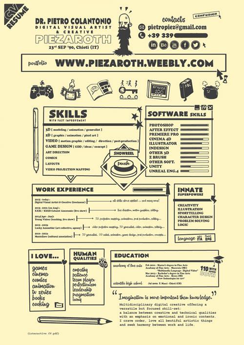 Game Artist Resume Google Search Resume Design Creative
