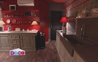 Cuisine Rouge Et Beige Idées Décoration Idées Décoration