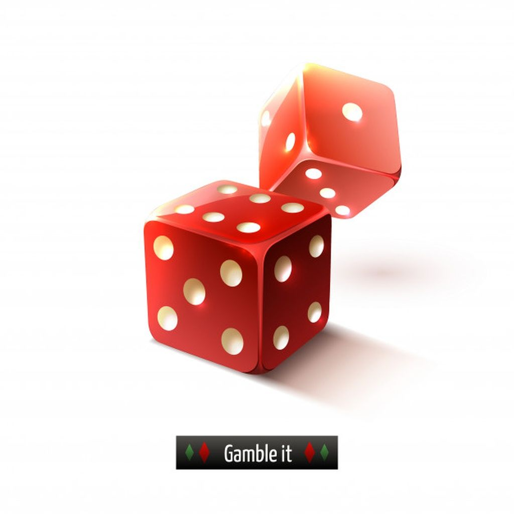 Realistic Dice Isolated Paid Sponsored Affiliate Isolated Dice Realistic Gambling Gift Free Vector Art Gambling Tattoo