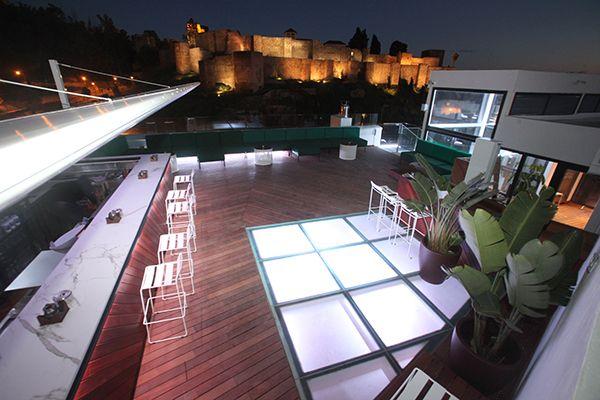 Galeria La Terraza Alcazaba Premium Hostel Malaga Buena Vida Terraza