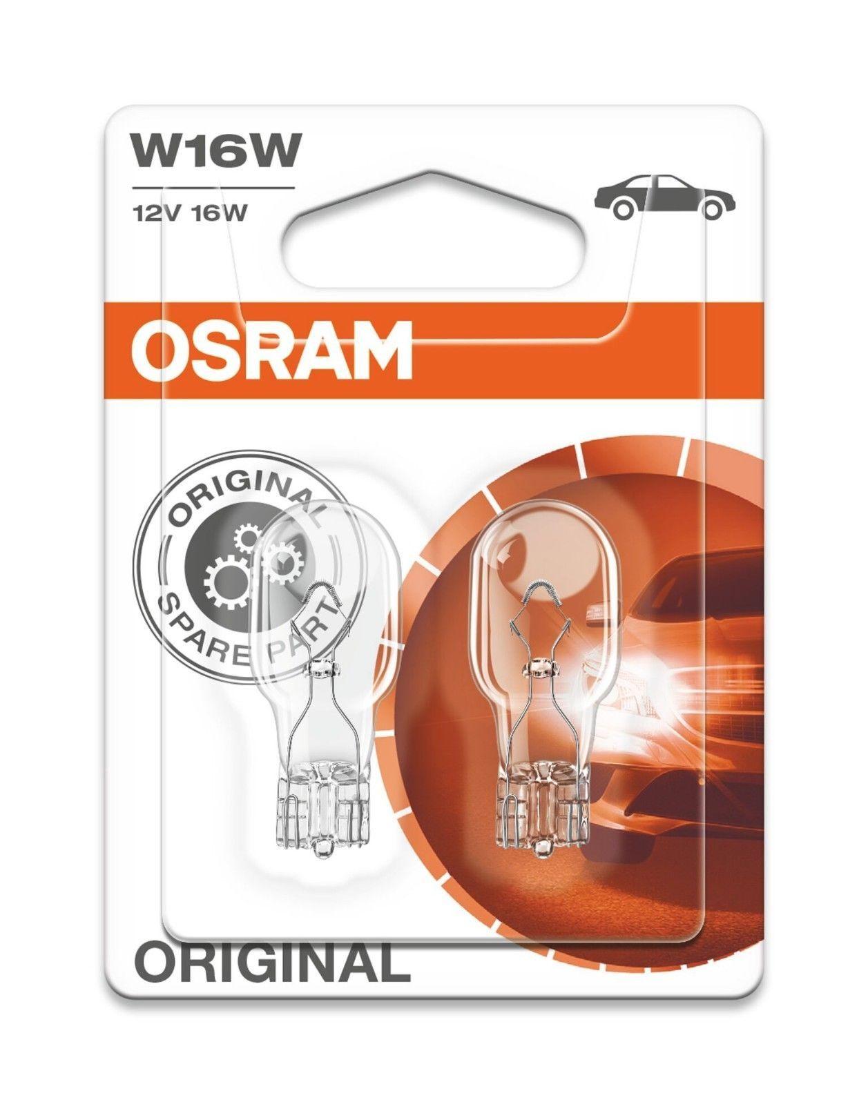 2x Car Bulb 501 12v 5 Watt Capless