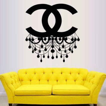 Wall Decal Vinyl Sticker Decals Art Decor Design Chandelier Luster ...