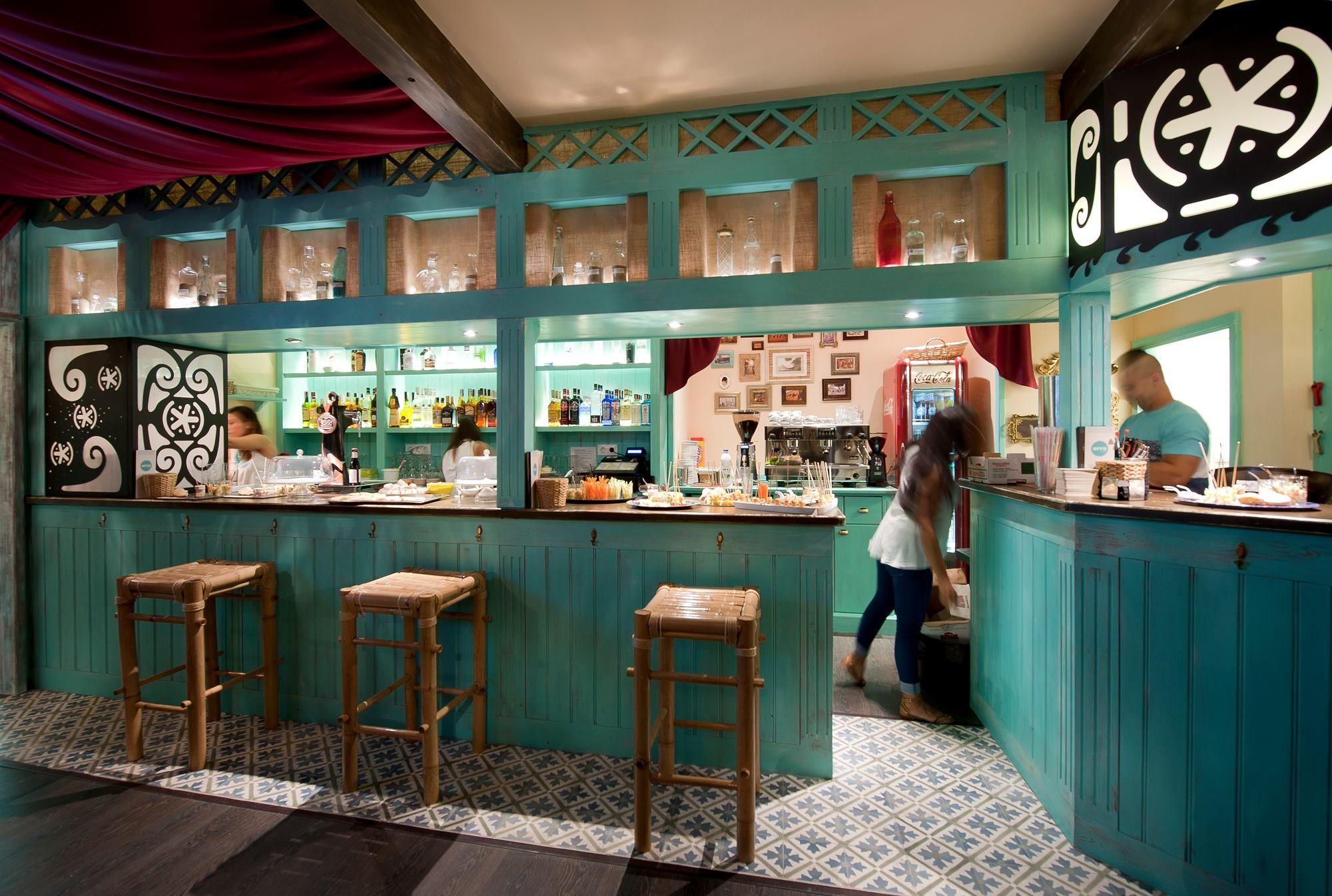 Ideas de #Cafeteria, Bar, Restaurante, estilo #Eclectico color ...