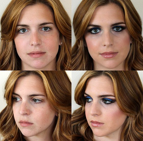 Before And After A Mac Makeover This Article Covers How To Recreate Other Great Makeup Tips