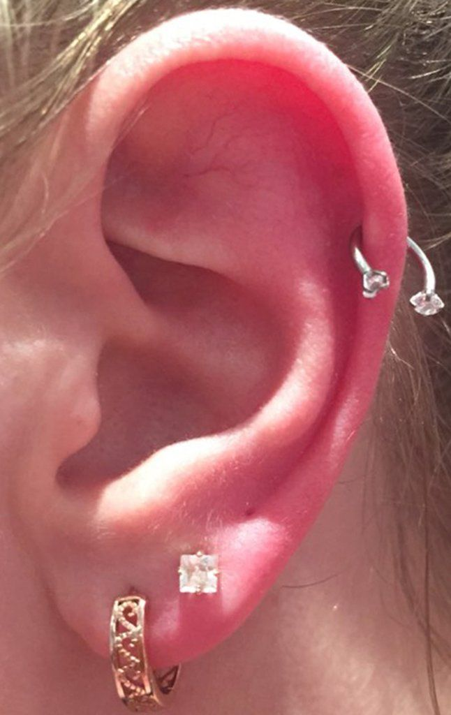 Horseshoe earrings  lucky horseshoe earrings  fun earrings  statement earrings  silver horseshoe earrings  pink earrings