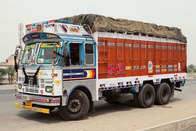 Indian Technicolor Trucks Photography Trucks Transport