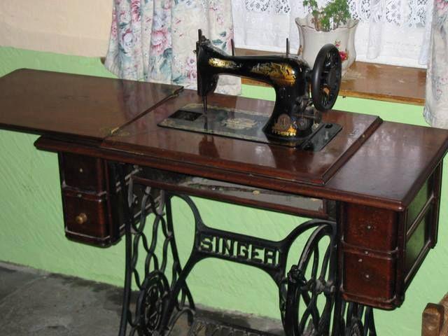 Máquina Costura Singer   70´s 80´s Objetos / Equipamentos ...