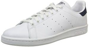 new concept cb219 6a68c adidas Stan Smith, Baskets mode mixte adulte, Blanc (Running White Running  White New Navy), 46 EU