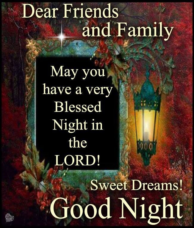 Good Night Everyone, God Bless You!! | Inspirational