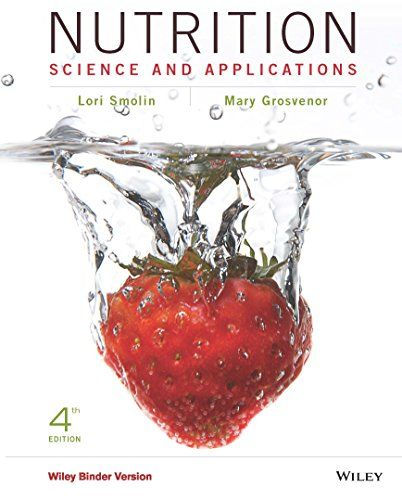 Nutrition Science And Applications 4th Edition Details Can Be Found By Clicking On The Image Nutrition Science Nutrition Science