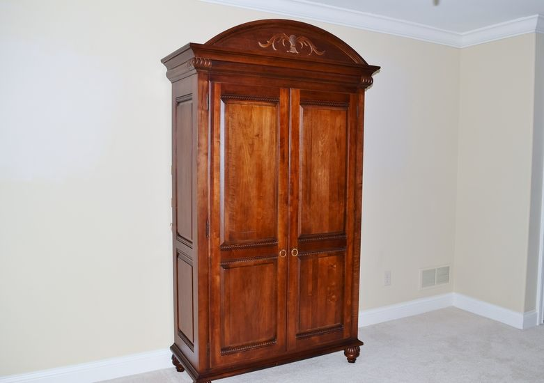 Ethan Allen British Classics Armoire I Think This Is Discontinued By EA.  Excellent Condition $1050