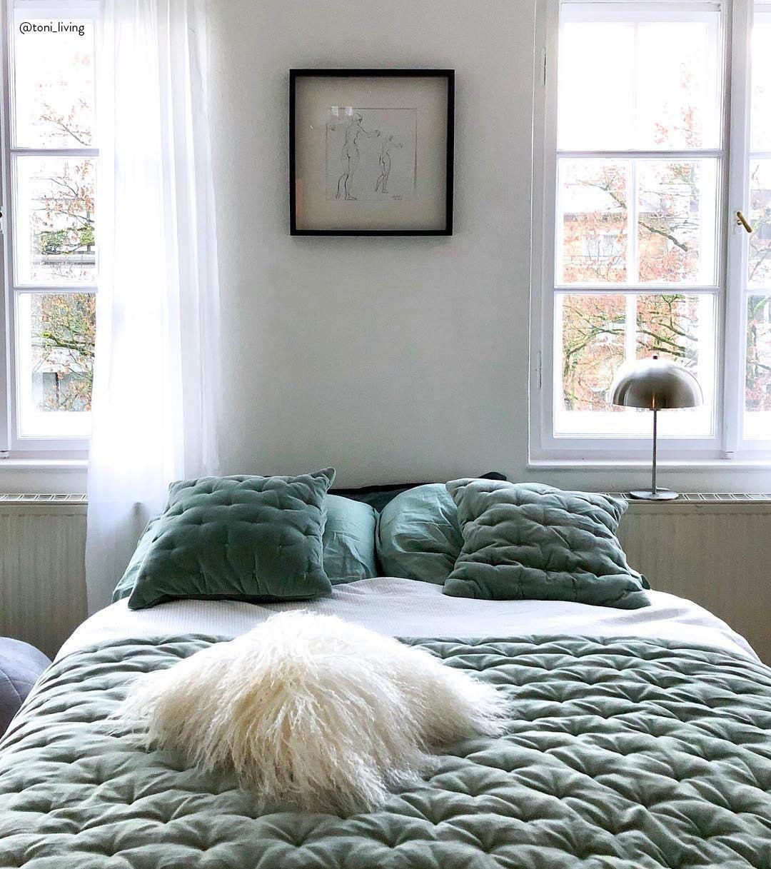 Copriletto imbottito in velluto Cheryl | Camera da letto ...