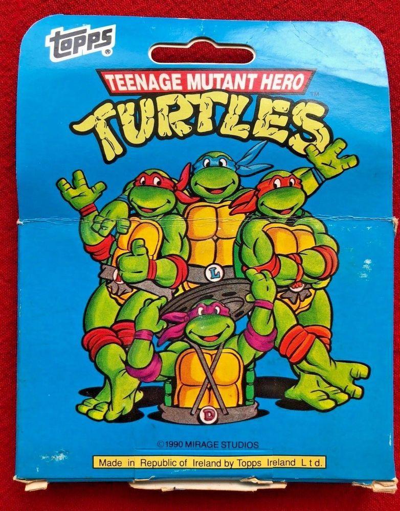 Teenage Mutant Ninja Turtles cards