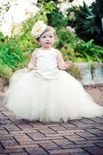 Love tutu flower girls!!