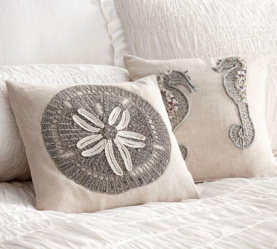 Summer Coastal Decorative Pillows Pottery Barn Almuadas Y Magnificent Coastal Decorative Pillows
