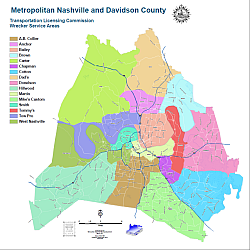 nashville tennessee zip code map Nashville Planning Department Mapping And Gis Static Maps nashville tennessee zip code map
