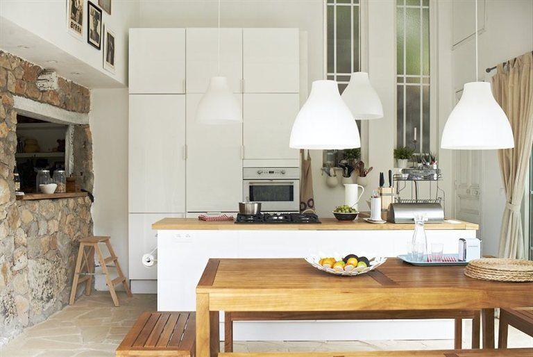 FAKTUM/ABSTRAKT kitchen High-gloss white. MELODI pendant lamp £13 ...