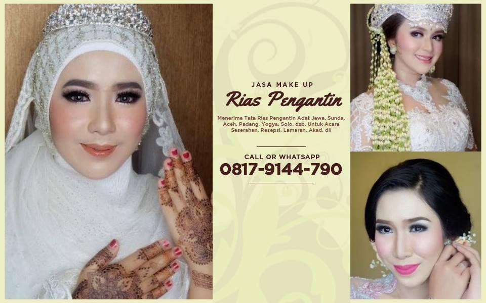 Salon Rias Pengantin Rias Wajah Natural Wedding Planning
