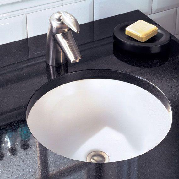 American Standard Undefined Warm White Orbit 12 3 4 Undermount Porcelain Bathroom Sink Faucetdirect Com Porcelain Bathroom Sink Undercounter Sink Sink