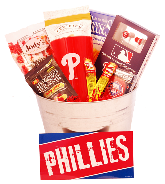 Philadelphia Phillies Gift Basket The Perfect Gift For