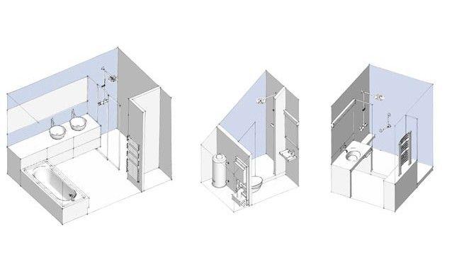 3 types d\u0027aménagements de salles de bains Attic bathroom and Attic