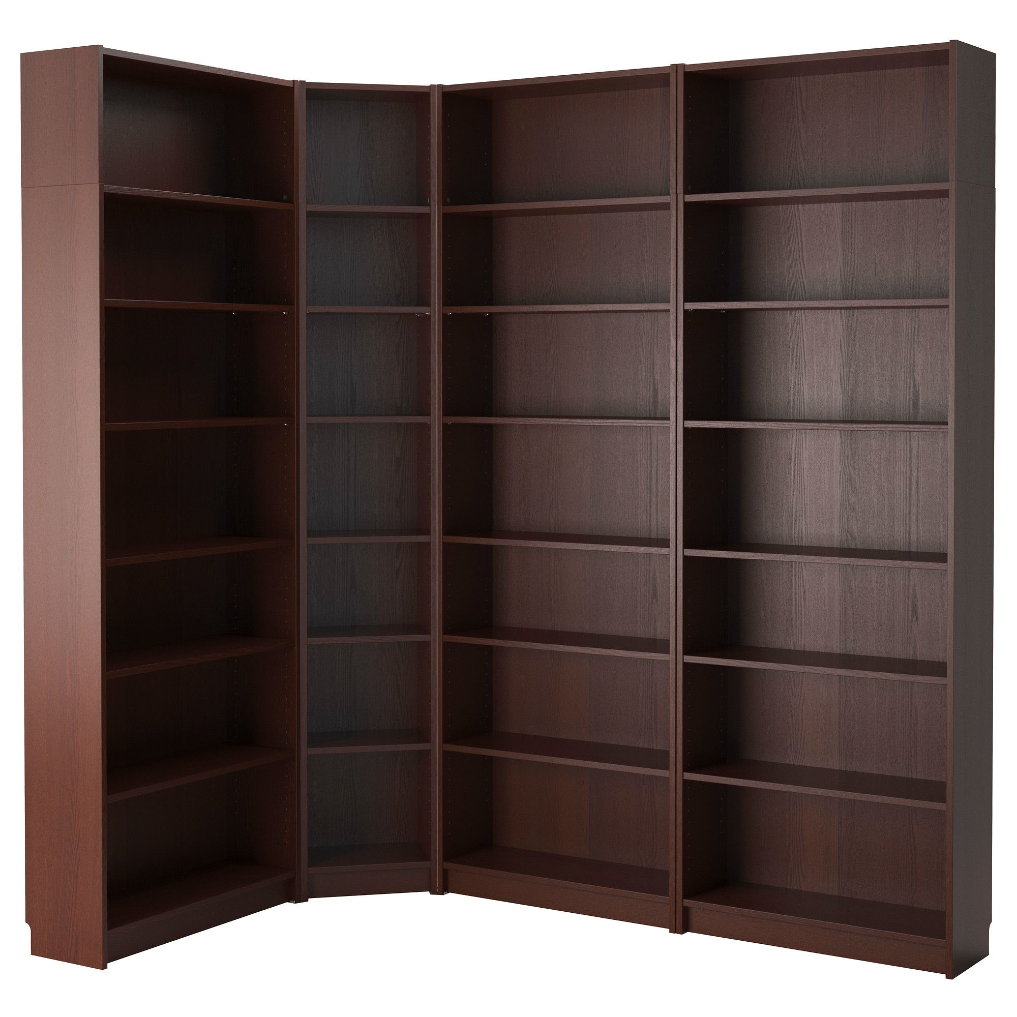 Billy Bookcase Birch Veneer Pinterest Narrow Shelves Ikea