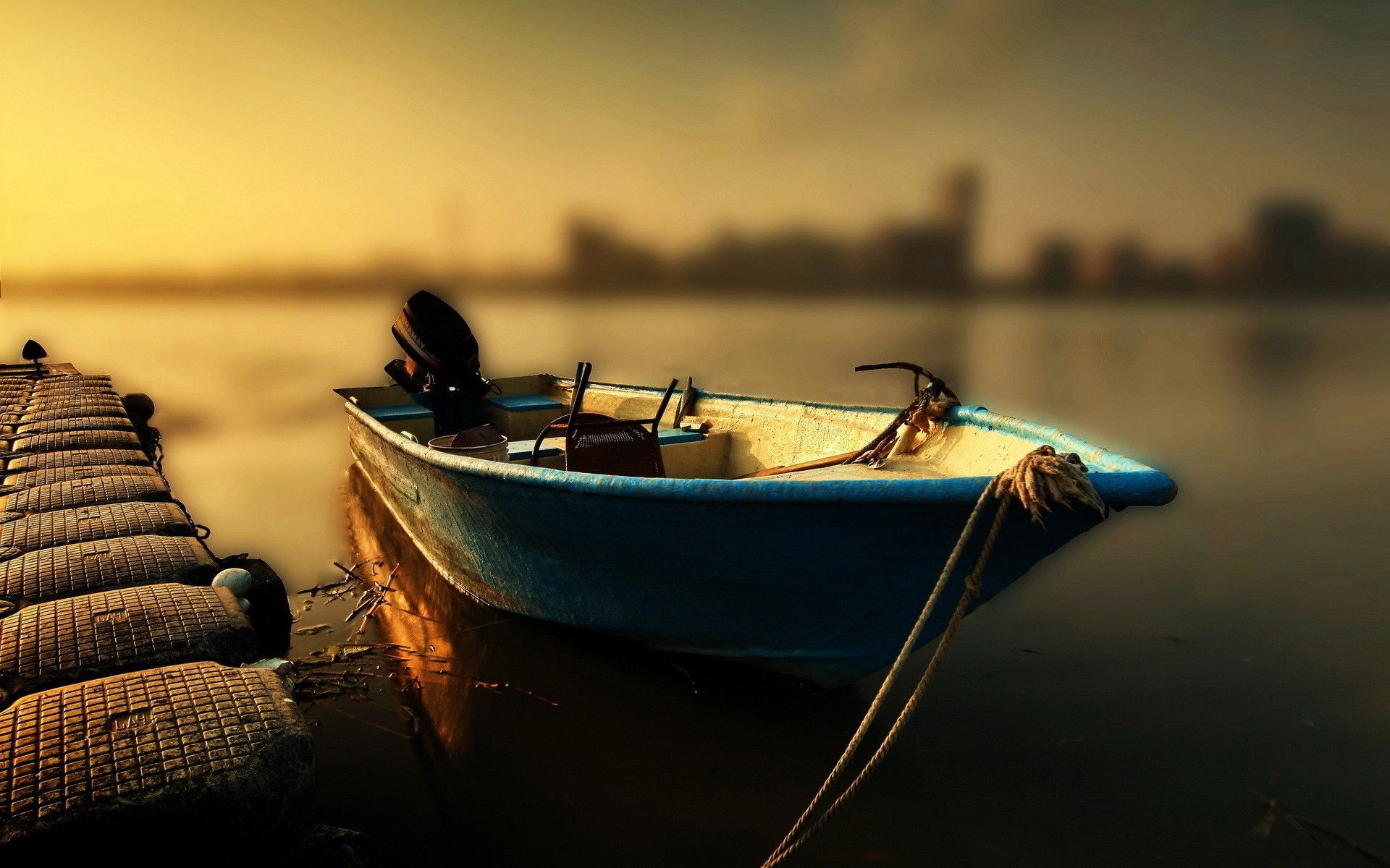 ultra hd boat evening a· wallpaper