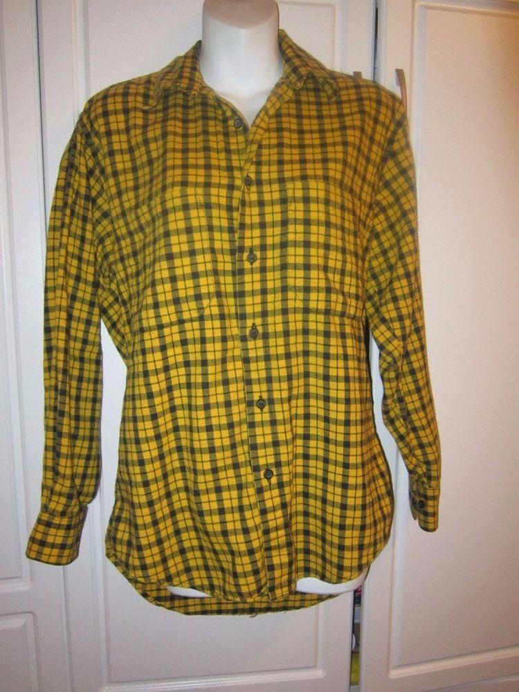 abfac37d The GAP Womens Size Small Cotton Yellow And Black Check Plaid button down  Shirt #Gap #ButtonDownShirt #Casual