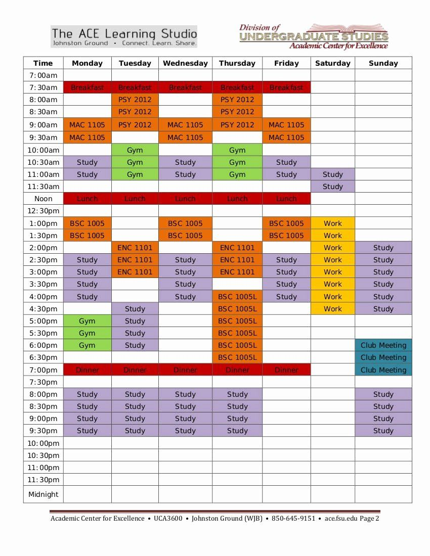 Weekly Study Schedule Template New 9 Study Plan Templates For Students Study Schedule Template Study Schedule Schedule Template Study plan template for students