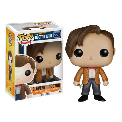 Doctor Who 11th Doctor Pop Vinyl Figure Entertainment Earth Pop Vinyl Figures Eleventh Doctor Vinyl Figures