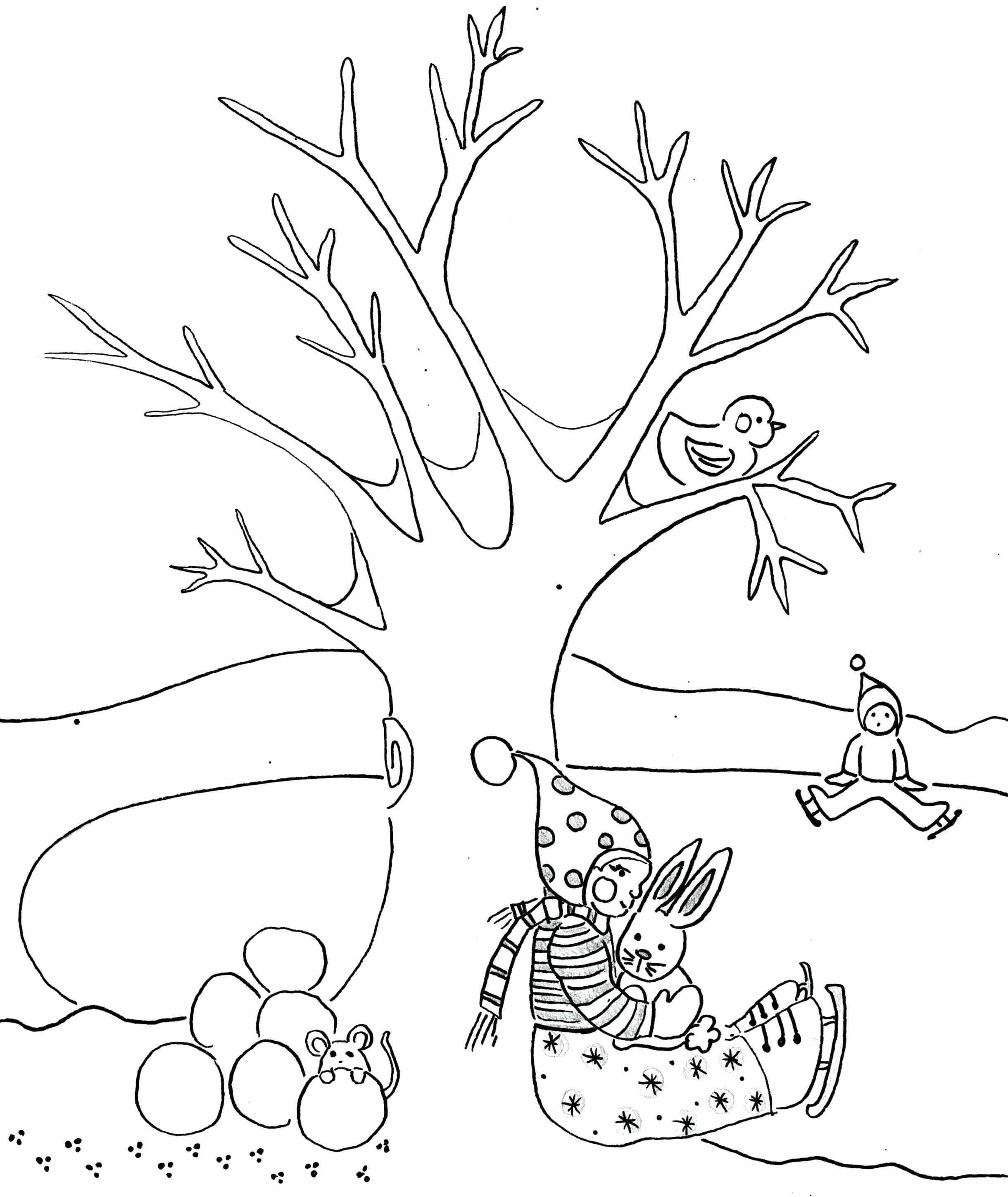 Tree Trunk Coloring Page Best Of Tree Trunk Coloring Page At Getcolorings Tree Coloring Page Coloring Pages Winter Christmas Tree Coloring Page